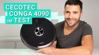 Der Cecotec Conga 4090 - Der 2700 pa starke Saugroboter im Test!