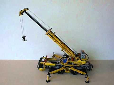 Vidéo LEGO Technic 8053 : La grue mobile