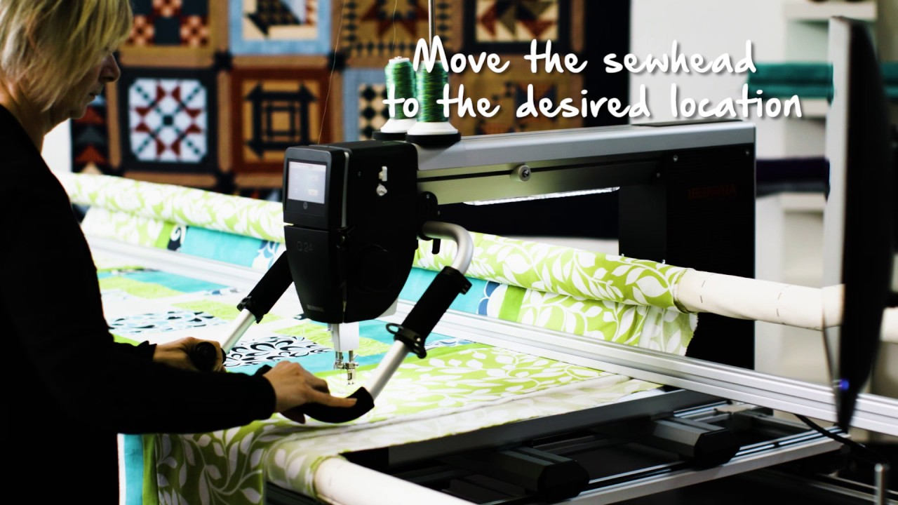 BERNINA Q-matic Video Tutorial: EasyGlide