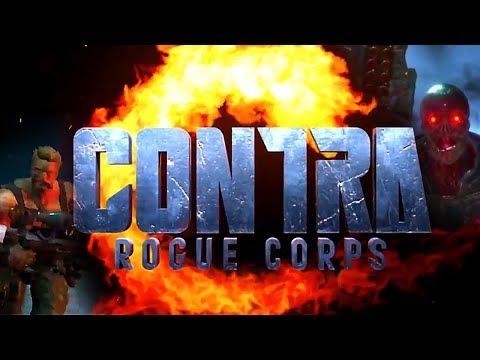 Trailer de Contra: Rogue Corps