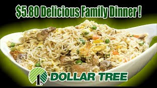 Dollar Tree & Grocery Store $5.80 Family Dinner - FEEDS 6 -8 People - The Wolfe Pit