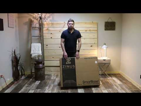 Zinus 16″ SmartBase Platform Bed Assembly & Review