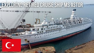 URBEX | Erkundung des verlassenen Kreuzfahrtschiffes MS Astor