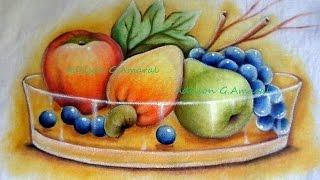 Frutas – Pintura em Tecido