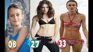 Keira Knightley ♕ Transformation From 08 To 33 Years OLD