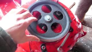 Ремень  шнека для снегоуборщика Poulan 827 от компании ИП Губайдуллин Н. В. - видео