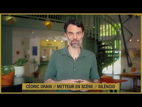 SILENCIO // Cédric Orain, auteur et metteur en-scène Théâtre de la Tempête