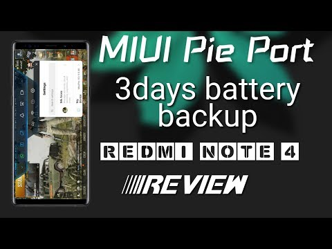 Port) MIUI 10 Stable Oreo ROM for Redmi Note 4X/4 (Mido