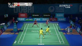 Detik-detik Kevin Sanjaya/Marcus Gideon Juara BWF Super Series Finals, Tumbangkan Jawara Dunia China