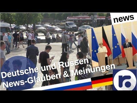News: Was glauben Deutsche und Russen? [Video]