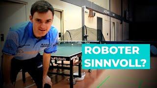 Ich und mein Roboter! Lohnt sich ein Tischtennis-Roboter?