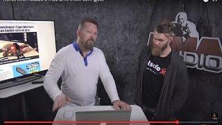 Emil Meek gjester MMA Studio 8