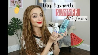 Perfume Haul + Must Have Summer Scents!