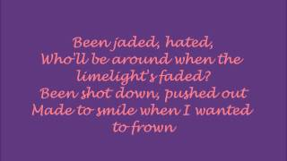 Christina Aguilera - Welcome with lyrics on screen