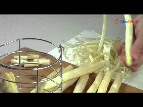 Jak obierać i gotować białe szparagi - TalerzPokus.tv