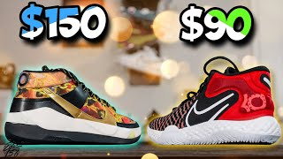 Nike KD 13 & KD Trey 5 VIII Comparison! Signature Shoe & Budget!