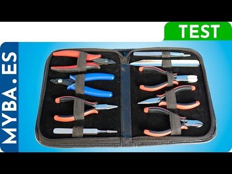 0cb97b78f649 Cómo usar herramientas de bisutería. Kit herramientas. Técnicas bisutería y  alambrismo.