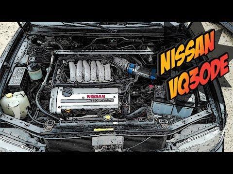 Фото к видео: Двигатель Nissan VQ30DE - Надежный Как Молоток