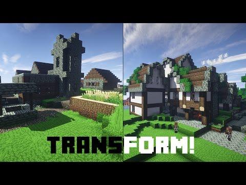 Download Let S Transform An Ugly Minecraft Village German