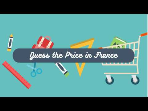 Play your own Billionaire Bill Gates Guesses Grocery Store Prices in France