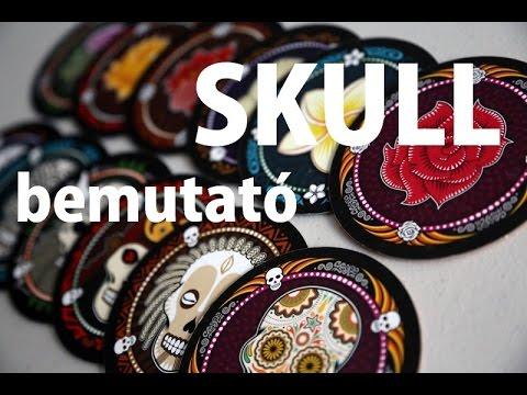 Skull - társasjáték bemutató - Jatszma.ro