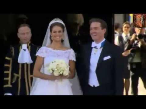 Boda Christopher O'Neill y Magdalena de Suecia