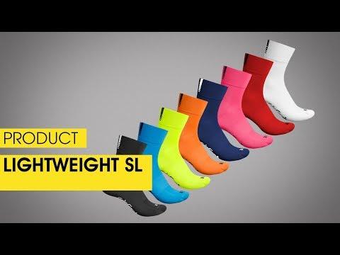 GripGrab Lightweight SL Cykelstrømper sort video