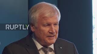 Horst Seehofer nach dem Parteivorstand in München
