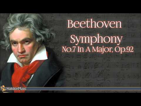 Symphony No 7 in A major, Op 92 composed by Ludwig van Beethoven