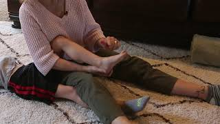 Heel Cord and Feet Stretches (Ambulatory)