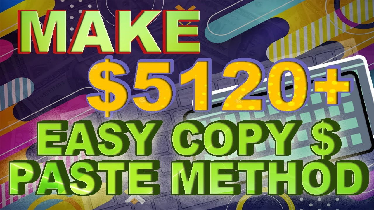 MAKE $5,120 Copy & Pasting On Google (Make Money Online) Make Money With Google thumbnail