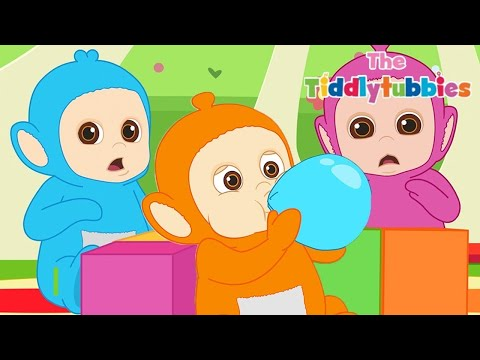Teletubbies ★ BARU Tiddlytubbies 2D Series! ★ Episode 6: Main Balon ★ Kartun Lucu 2018 HD