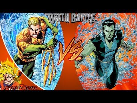 Aquaman VS Namor (Marvel VS DC Comics)   DEATH BATTLE! 🔴 LIVE REACTION & MORE!!!