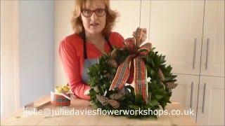 How To Hang Your Christmas Door Wreath