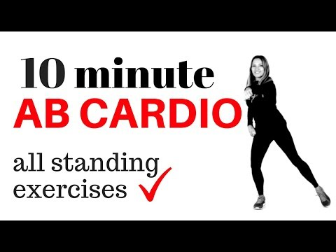 10 MINUTE AB WORKOUT AT HOME - LOSE INCHES FROM YOUR WAIST- TUMMY WORKOUT & CARDIO HIIT - START NOW