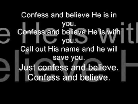 Not Shaken - Confess And Believe Acoustic Version.wmv