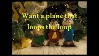 "Chipmunk Song: ""Christmas Don't Be Late"" w/ Lyrics"