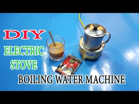 How To Make A Electric Stove, Boiling Water Machine Mini