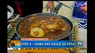 Paksiw Na Pata Sa Pinya, Inihain Ni Chef Boy Logro   Unang Hirit