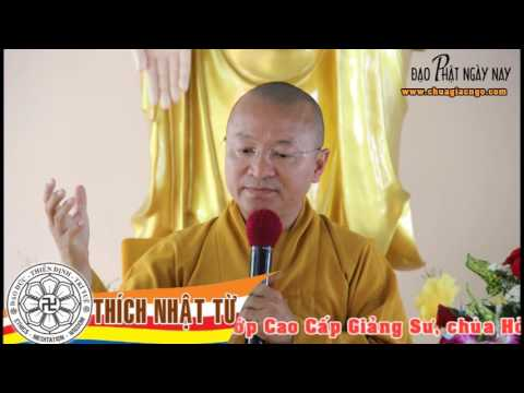 Sư Phạm Giáo Lý Phật Giáo: Phương pháp quy nạp nhân quả trong hoằng pháp (27/03/2006)