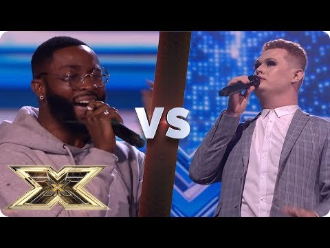 SPECTACULAR SING-OFF - J-Sol VS Thomas Pound | The X Factor UK