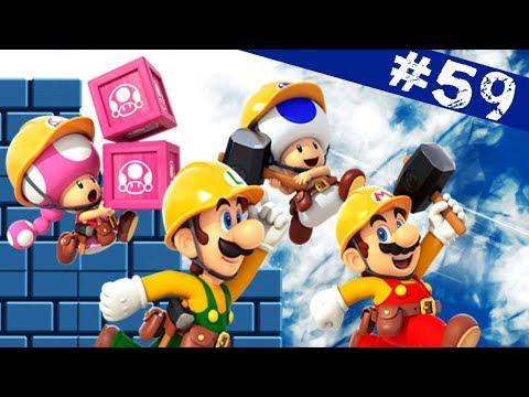 TEST EN CARTON #59 - Super Mario Maker 2