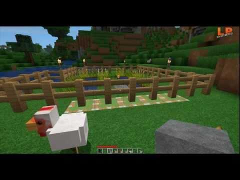 Minecraft Pistons: Automatische Zaun-Tür