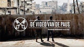 Video van de Paus: In dienst van de vrede