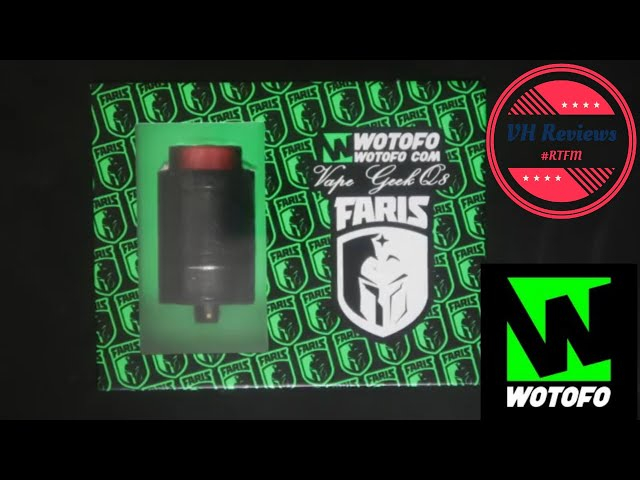Wotofo Faris RDTA. The Arabian knight