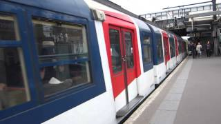 preview picture of video '[Paris] MS61 RER A - Nanterre Université (NELY)'