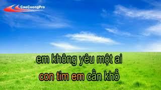 Mặc Kệ Người Ta Nói Karaoke   Trí Hải   CaoCuongPro   YouTube