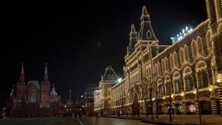 Beautiful Moscow Night - 4K HDR version (Sony ILCE-6500 night cityscape test)