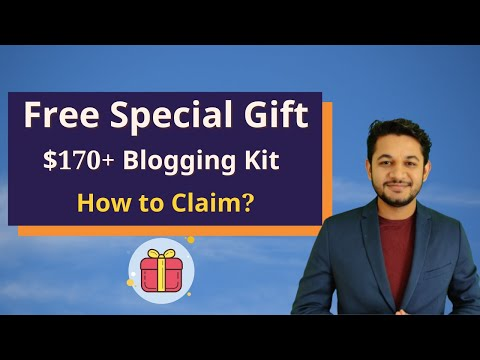 How to Get $170+ Free Blogging Theme,Course and Much More?