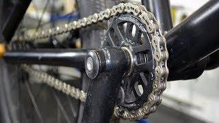 КАК смазать ЦЕПЬ велосипеда - ЛУЧШИЙ СПОСОБ!